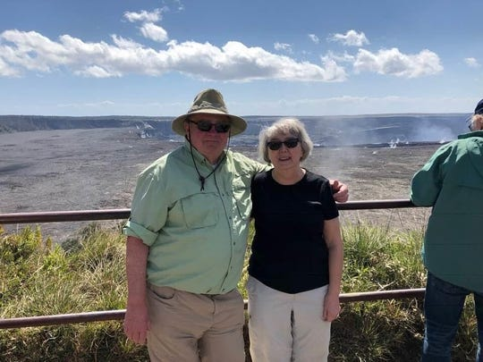Gary and Debbie Leary in Hawaii