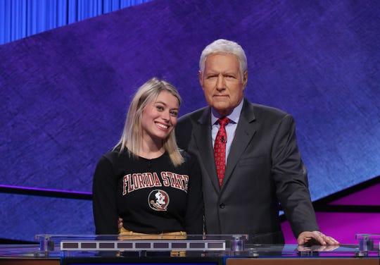 "Sophie Casarico, a junior at Florida State University from St. Augustine, will make her first appearance in the ""Jeopardy!"" College Championship on April 7."