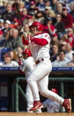 Mike Lieberthal finished his Westlake High career with a pair of county records before a successful major league career, mostly with the Philadelphia Phillies.