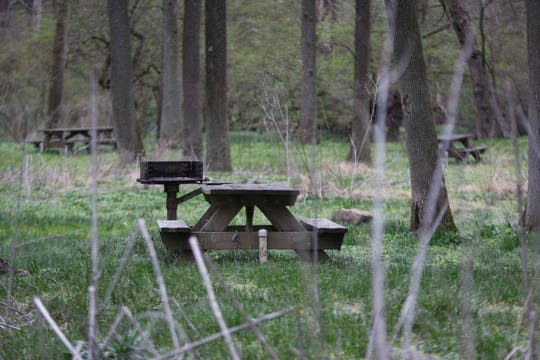 Federal officials are working to finalize a name for the outdoors centerpiece of Delaware's First State Historic National Park, often referred to as Beaver Valley. The park sits largely empty on a damp day during the COVID-19 pandemic on Tuesday, March 31.