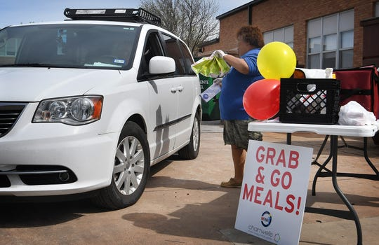 The City of Wichita Falls is working with the WFISD school lunch distribution program and including Census 2020 reminder cards when parents pickup the meals.