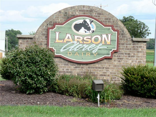 Larson Acres, Evansville is one of the most visited dairy farms in Wisconsin.