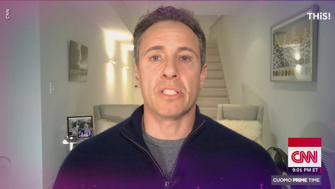 Chris Cuomo lost 13 pounds in 3 days; fellow CNN host Brooke Baldwin positive for coronavirus - USA TODAY 3
