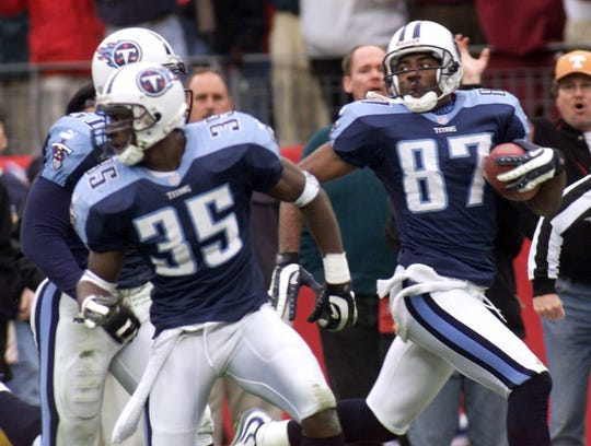 Music City Miracle (1999 AFC wild-card game) -- Bills kicker Doug Christie did a pooch kick that was fielded by the Titans' Lorenzo Neal, who handed the ball off to Frank Wycheck, who threw across the field to Kevin Dyson, who sprinted down the sideline for the winning score.