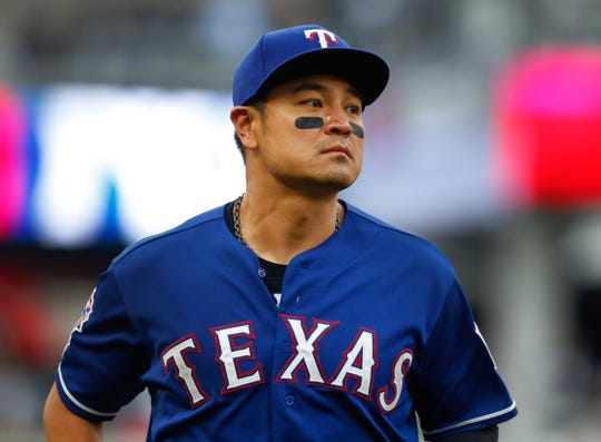 Shin-Soo Choo is in the final year of his contract with the Rangers.