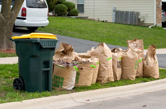 Appleton will begin its seasonal curbside collection of yard waste on April 13. It will last until May 8.