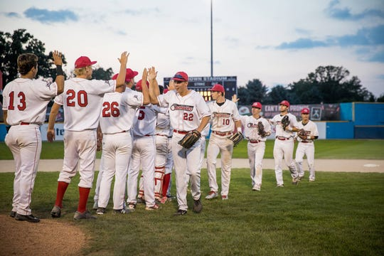 The Battle Creek Bombers competed in the 2017 Northwoods League World Series at C.O. Brown Stadium.