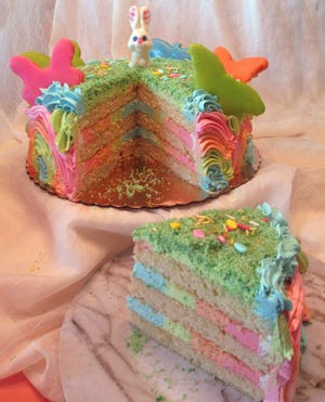 Goodie-licious Custom is celebrating Easter with a Cake of Good Hope.