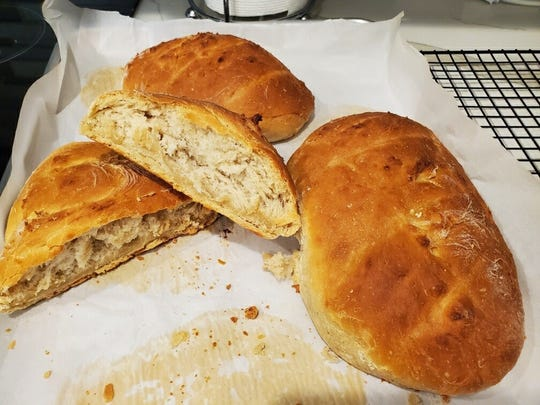 Heather Deel Da Silva was happy with her recent experiment with baking a basic French bread.