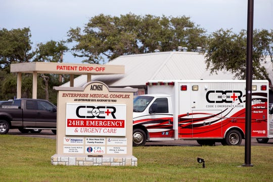 Code 3 Emergency Room and Urgent Care in Rockport is closed as of April 4, 2020. Care Regional Medical Center in Aransas Pass has been closed since Hurricane Harvey made landfall August 2017.