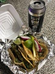 Tacos from El Guacamole in Millville.