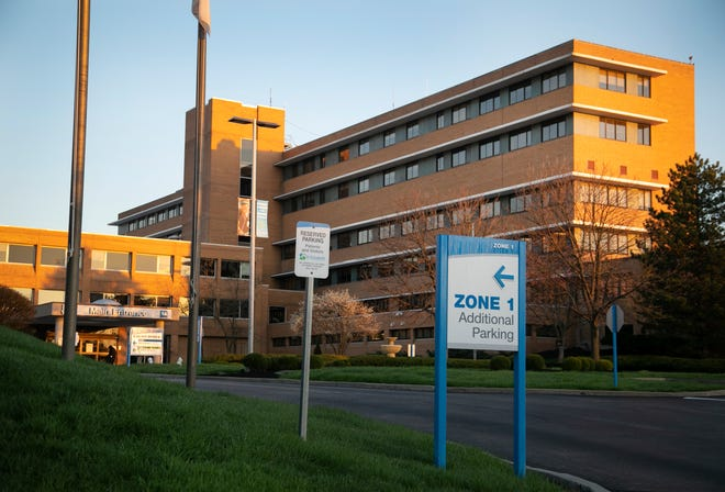 St. Elizabeth Hospital in Ft. Thomas, Thursday, April 2, 2020. Every hospital in both Northern Kentucky and the Cincinnati region has protocols in effect due to the new coronavirus pandemic.