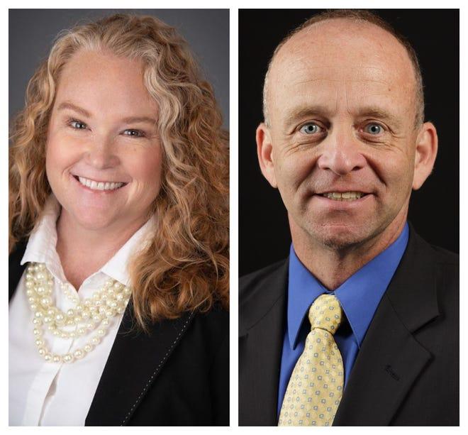 Karen Falter and Curt Hartman