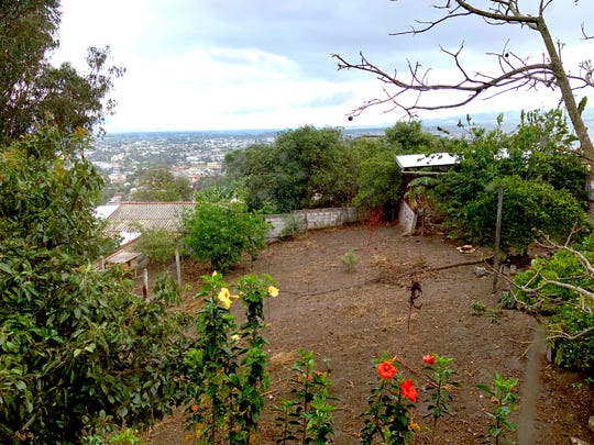 The grounds at the Durga's Tiger School for Tantra Yoga in Ecuador.