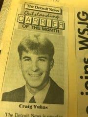 Craig Yuhas always making The Detroit News proud.