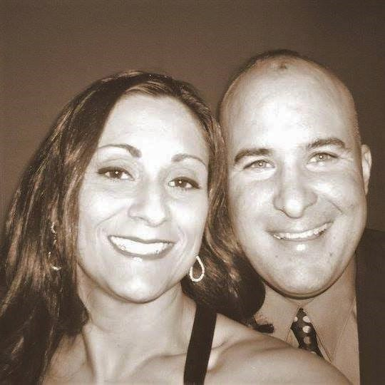 Craig Yuhas with wife Heather.