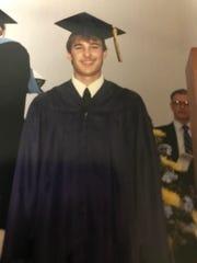 Craig Yuhas at his graduation, many, many, many years ago.