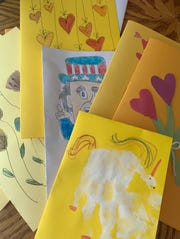 Small acts of kindness -- like handmade cards -- can go a long way during this crisis.