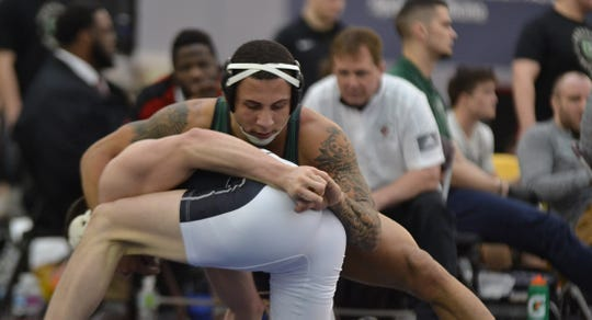 Fremont Ross grad Trey Grine advanced to national all four years for Tiffin.