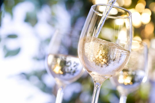 You'll find flowery, grassy aromas on bottle-pop, with the wine pouring a lovely green-tinted straw yellow.