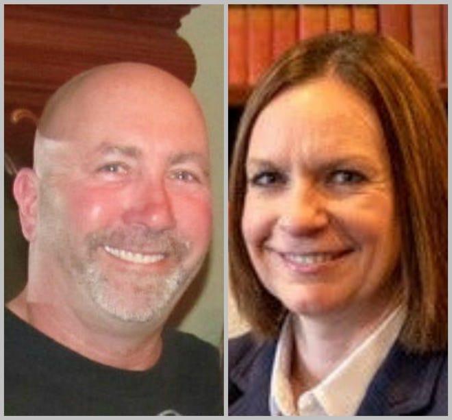 De Pere City Council candidates Kelly Ruh and Matt Gruetzmacher
