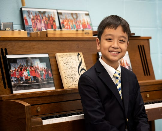 William Pham of Monaview Elementary