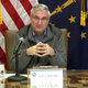 Governor Eric Holcomb gives COVID-19 update on Thursday, April 2, 2020.