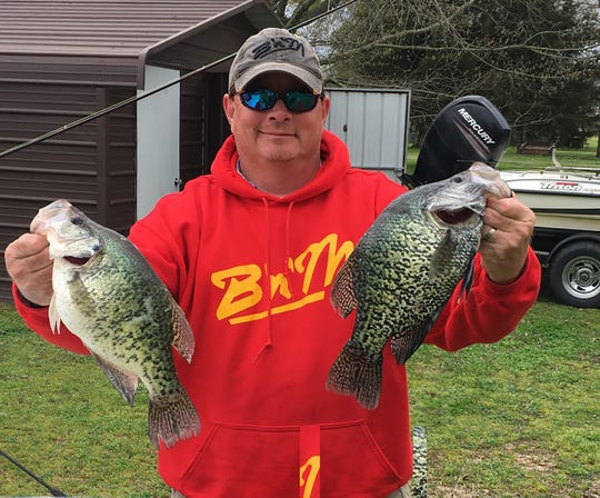Hugh Krutz of Brandon said Mississippi's shelter-in-place order coincides with the Barnett Reservoir crappie spawn and should protect a lot of fish and provide even better fishing in the future.