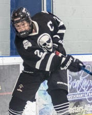 Pinckney's Sebastian Smith led the state with 62 goals in 2019-20.