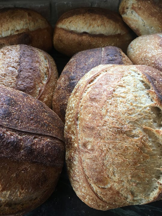 Noel Deeb of El Breadshop bakes up numerous types of bread from her small boutique bakery in Old Louisville.