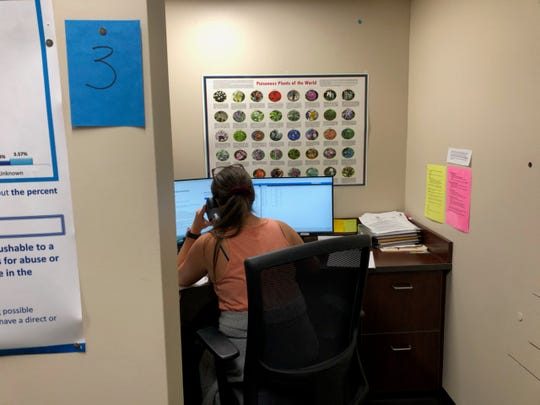 Nurses at the Poison Control Center hotline in Louisville now take calls about the coronavirus under an agreement with the state.