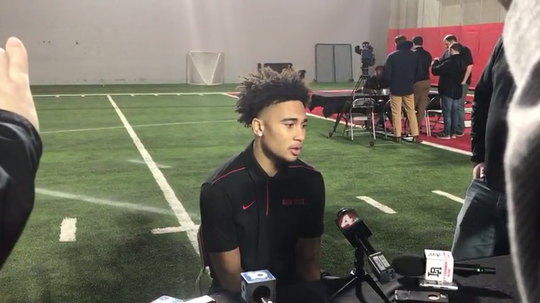 OSU freshman quarterback C.J. Stroud talks about the transition to college and bonding with fellow freshman QB Jack Miller