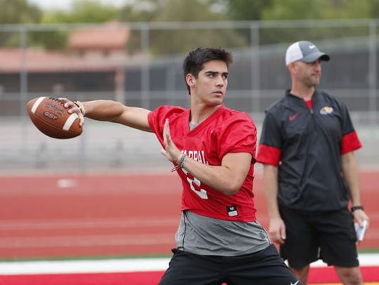 Arizona product Jack Miller is one of two high-profile quarterbacks in Ohio State's freshman class.
