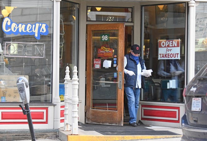 The Coney Island Diner at 98 N Main Street is open for carry-out.