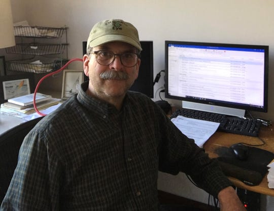 Mark Kastel has worked from his rural home near La Crosse for many years.