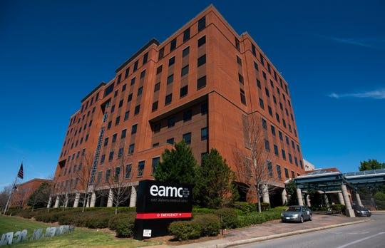 East Alabama Medical Center in Opelika, Ala., on Thursday April 2, 2020.