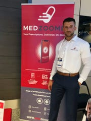 Barron Collier graduate and former USF kicker Marvin Kloss is launching MedZoomer, a prescription delivery service, this year.