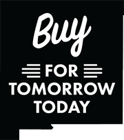 The Buy for Tomorrow Today campaign logo