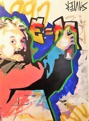An example of Matt Sauter's art work.