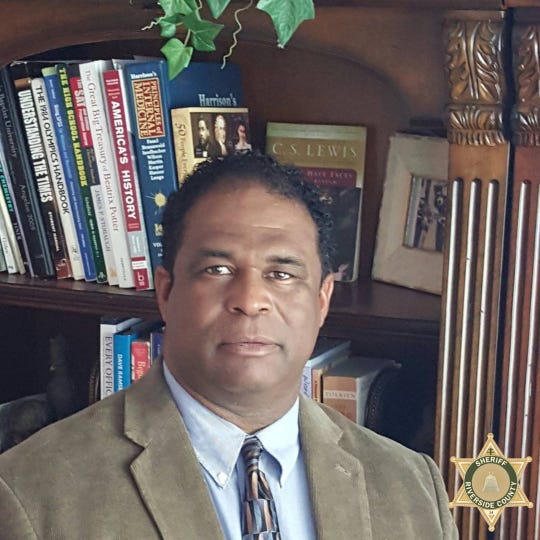 Deputy Terrell Young, a 15-year veteran of the Riverside County Sheriff's Department, died of complications due to COVID-19 April 2, 2020.