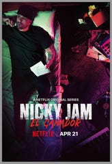 """Nicky Jam: El Ganador"", estará disponible en  Estados Unidos, a través de Netflix, a partir del 21 de abril."