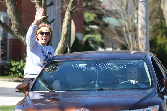 "Woodmore's heartwarming ""Staff Village Drive Thru"" brought visible excitement and joy to the school staff, students and their families."