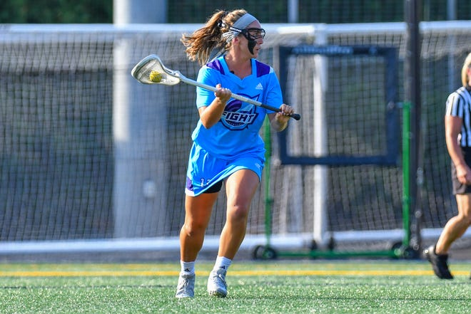 Long Island native Kyle Ohlmiller, a former NCAA star, now plays for the Fight of the Women's Professional Lacrosse League.