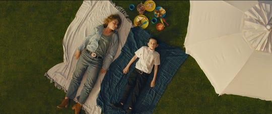 "Imogen Poots and Senan Jennings in the film ""Vivarium."" (Courtesy Mongrel Media/TNS)"