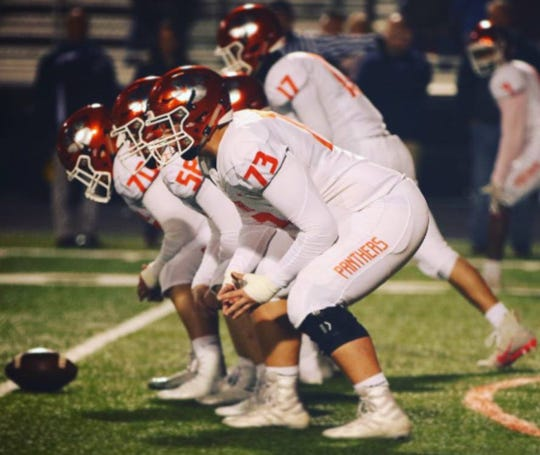 Central York offensive tackle Josh Gaffney received his first Division I offer from Robert Morris Thursday, April 2.
