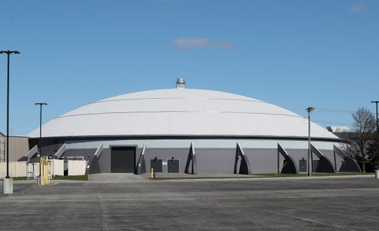 The Dome Arena in Henrietta.  A site that may be used as field hospital if the regional health system needs an overflow location in the battle abasing the coronavirus.