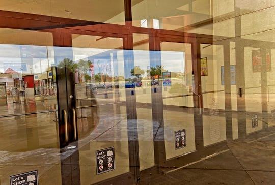 The Sunset Mall, seen in this Thursday, April 2, 2020 photo, was ordered closed down by the city of San Angelo on Wednesday.