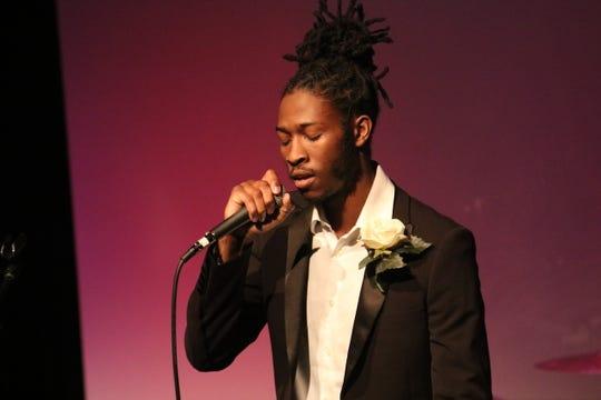 Rachard Dennis won the performing arts Critic's Choice award in Critical Mass 8.