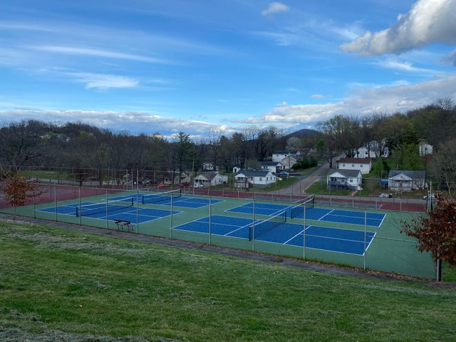 The pickle ball courts at Montgomery Hall Park are now closed because of coronavirus COVID-19 concerns.