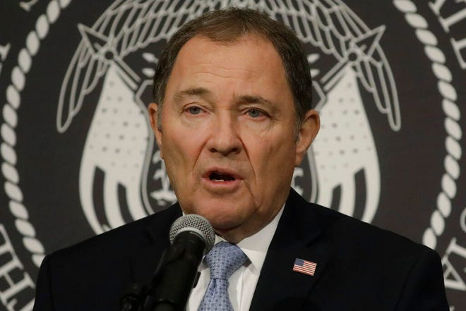 "The Utah Department of Health announced an increase of 1,117 COVID-19 cases on Friday, making a statewide total of 61,775 cases. Gov. Gary Herbert said in a statement that ""This is another alarming day for our COVID-19 case numbers."""